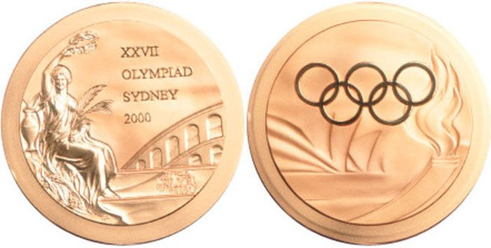 The Evolution of Olympic gold medals from the past 118 years 042