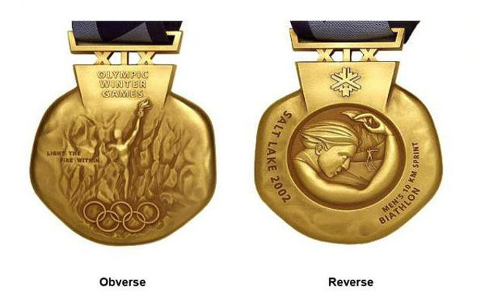 The Evolution of Olympic gold medals from the past 118 years 043