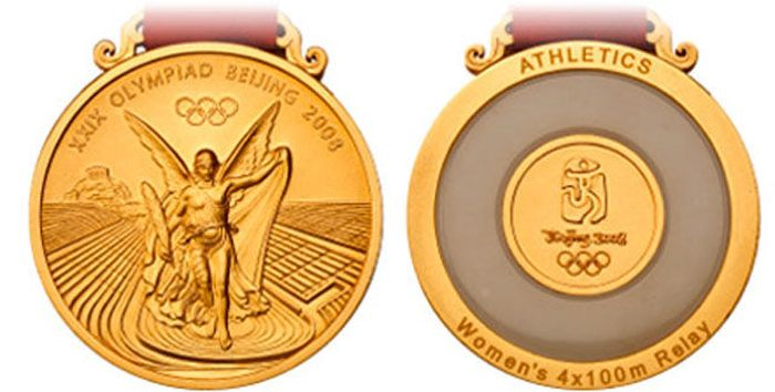 The Evolution of Olympic gold medals from the past 118 years 046