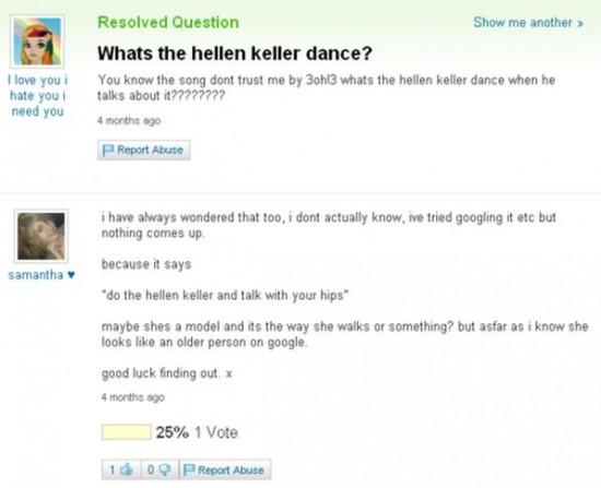 20 Funny Yahoo Answers 002