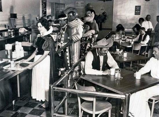 Disneyland Employee Cafeteria in 1961