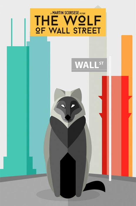 Literal movie posters by an illustrator Danish Amed 008