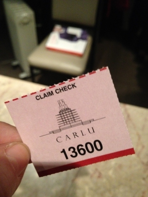 Never forget your coat check or dry cleaning ticket number again