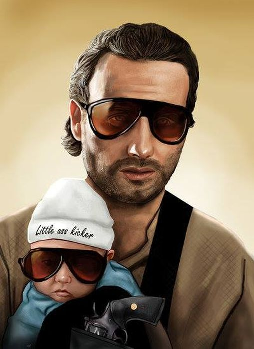Pop Culture Illustrations by Zach Jordan 018