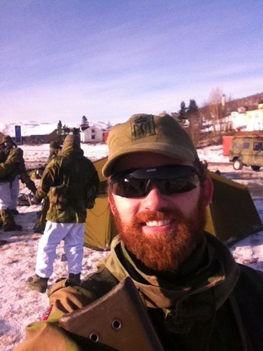 Soldiers from different armies take selfies 024