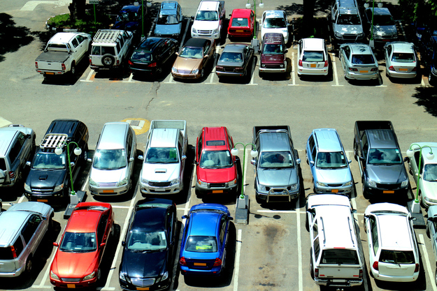 Take a picture of a nearby landmark when you park your car in a crowded lot