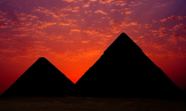 The Great Pyramids, Egypt