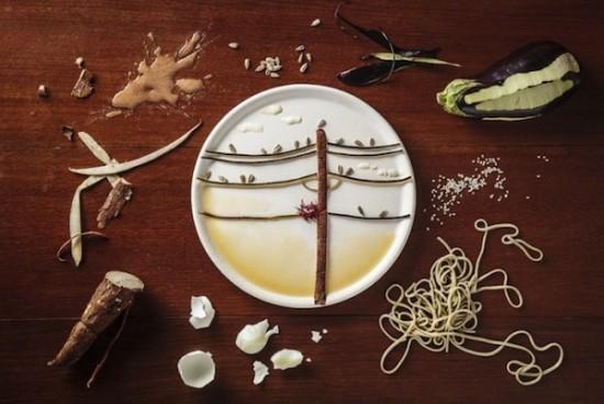 Creative Food Illustrations Of Birds 003
