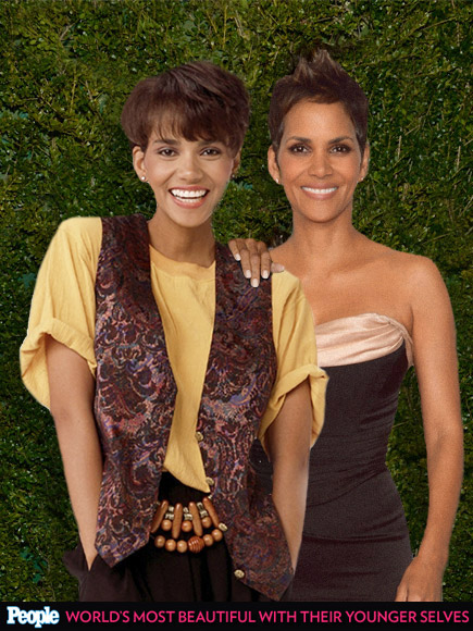 Halle Berry In 1989 And 2013 Funcage