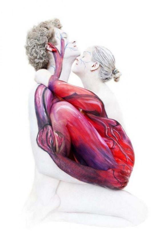 Heart (2 people) – Gesine Marwedel