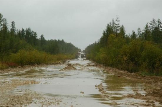 Siberian Road to Yakutsk, Russia