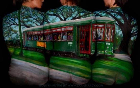 Trolley car – Craig Tracy