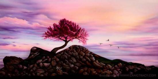Utopia painting – Craig Tracy