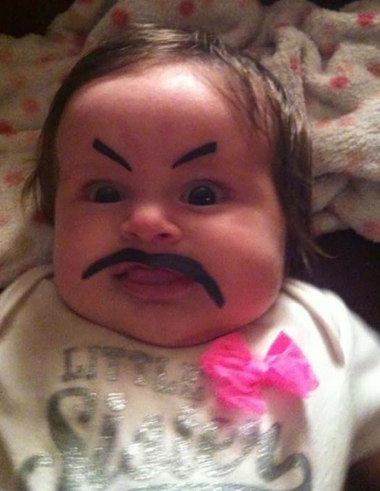 Babies With Funny Eyebrows 001