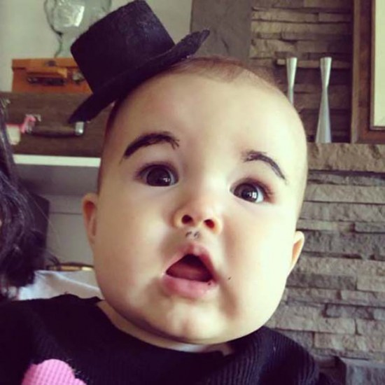 Babies With Funny Eyebrows 003