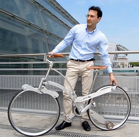 Foldable Bicycle by Italian engineer Gianluca Sada 002