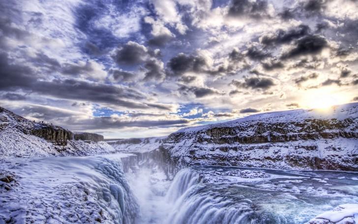 Golden Falls (Gullfoss), Iceland