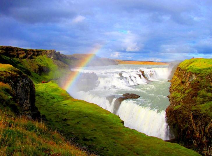 Golden Falls (Gullfoss), Iceland1