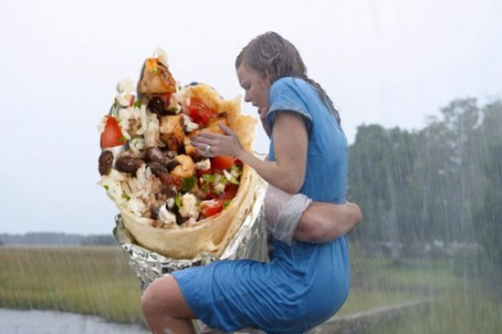 Iconic Romantic Scenes Get The Burrito Treatment 007