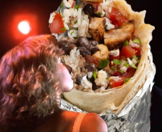 Iconic Romantic Scenes Get The Burrito Treatment 008