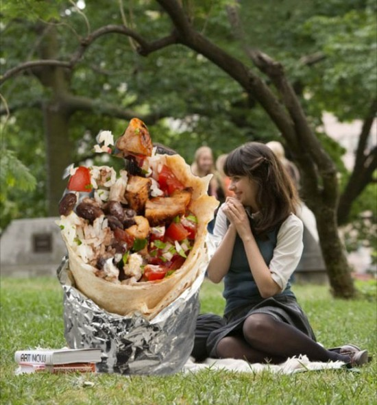 Iconic Romantic Scenes Get The Burrito Treatment 010