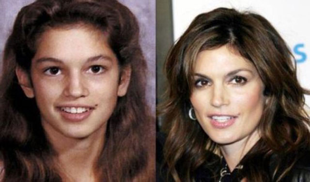 Supermodels And Their Yearbook Photos 003