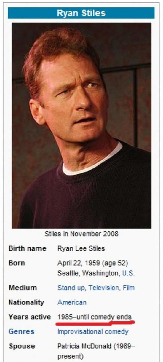 Wikipedia Got Weird 010