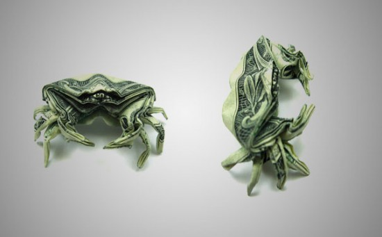 20 Cool Examples of Dollar Bill Origami 004