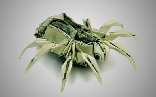 20 Cool Examples of Dollar Bill Origami 005