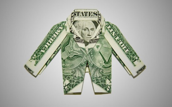 20 Cool Examples of Dollar Bill Origami 008