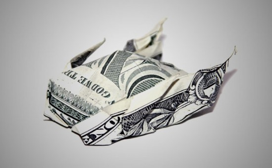 20 Cool Examples of Dollar Bill Origami 009