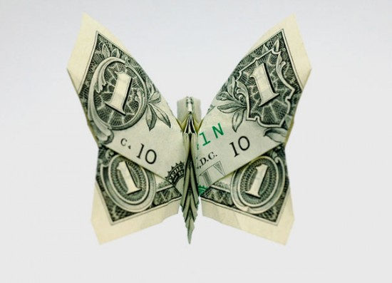 20 Cool Examples of Dollar Bill Origami 012