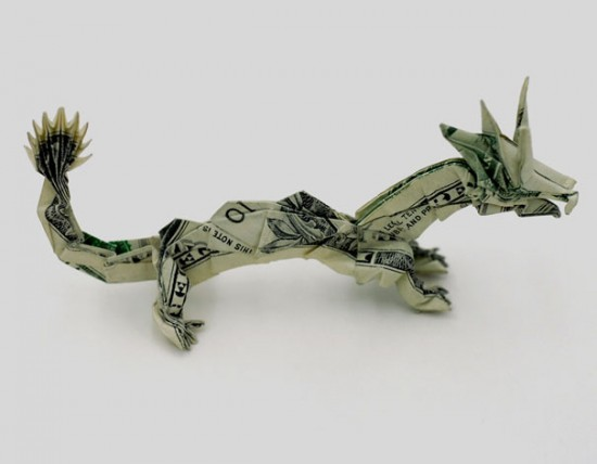 20 Cool Examples of Dollar Bill Origami 014