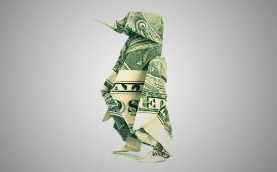 20 Cool Examples of Dollar Bill Origami 016