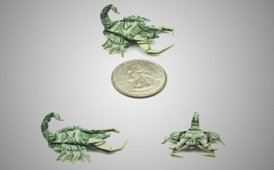 20 Cool Examples of Dollar Bill Origami 018