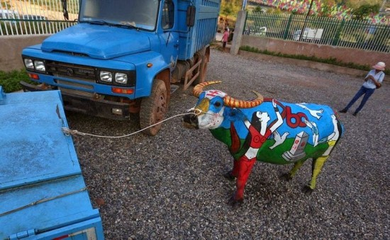 Buffalo Bodypainting Competition in China 004
