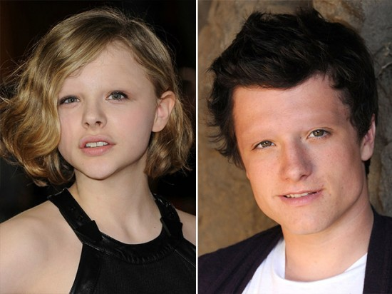 Chloë Grace Moretz and Josh Hutcherson