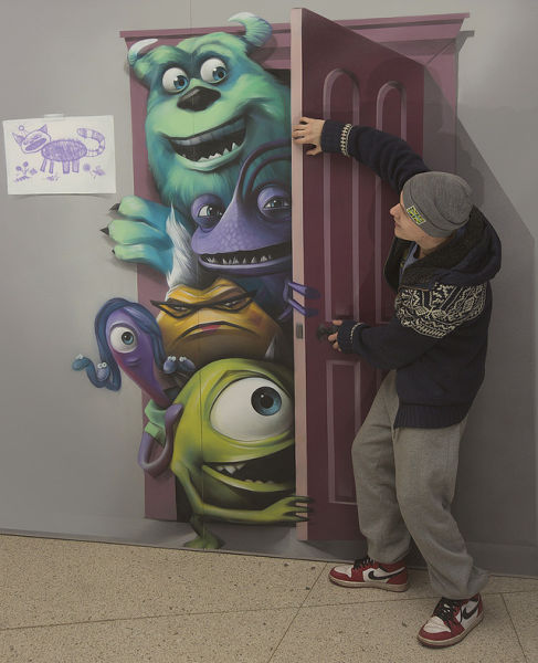 Cool 3D Paintings That Literally Jump Out at You 001