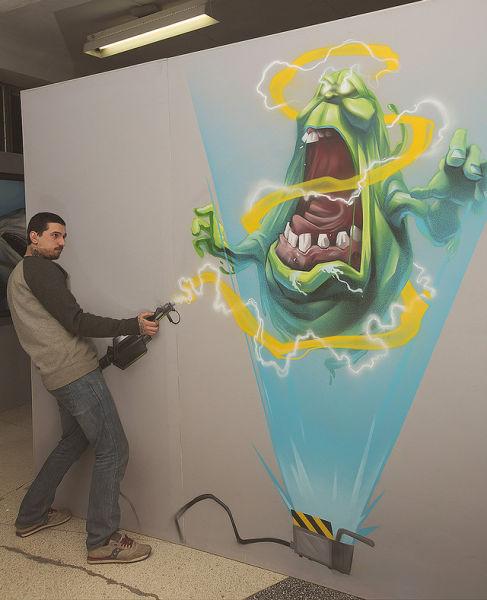 Cool 3D Paintings That Literally Jump Out at You 007