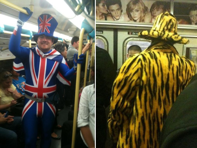 Crazy Stuff Spotted on the Subway 006