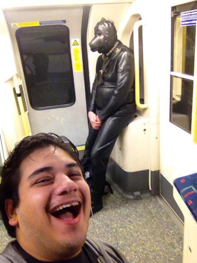 Crazy Stuff Spotted on the Subway 008