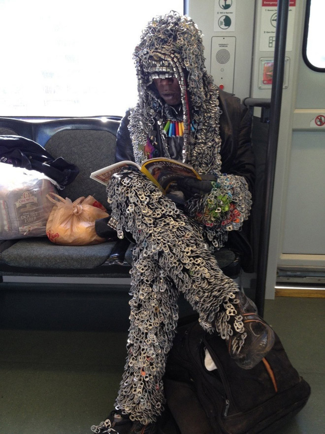 Crazy Stuff Spotted on the Subway 010