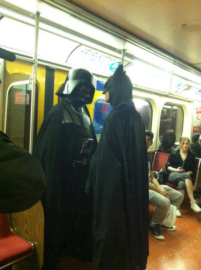 Crazy Stuff Spotted on the Subway 015