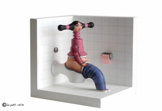 Everyday Objects Transformed into Whimsical Characters 006