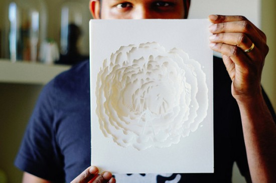 Illuminated Cut Paper Light Boxes By Hari And Deepti 002