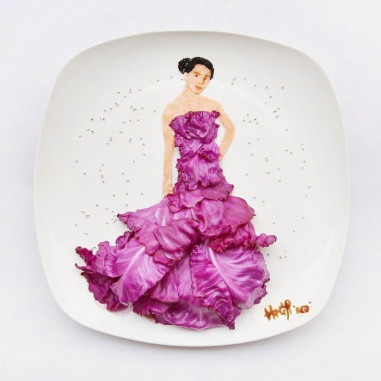 Painting with Food by Red Hong Yi 003