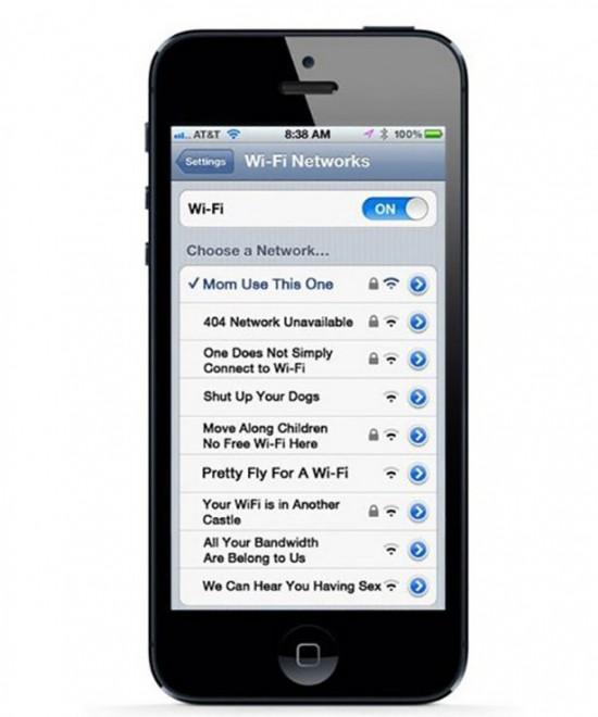 People having fun with their Wifi Names 013