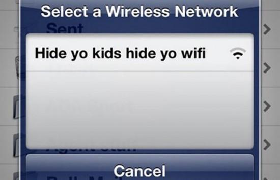 People having fun with their Wifi Names 023