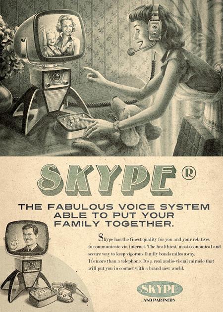 Retro Skype