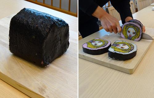 Sushi Roll Art by Japanese Artist Takayo Kiyota 002